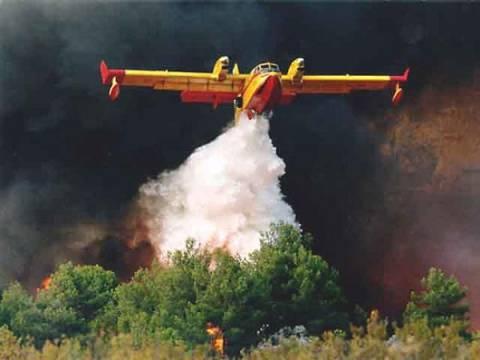 Σε εξέλιξη πυρκαγιά στο Ζευγολατιό Κορινθίας