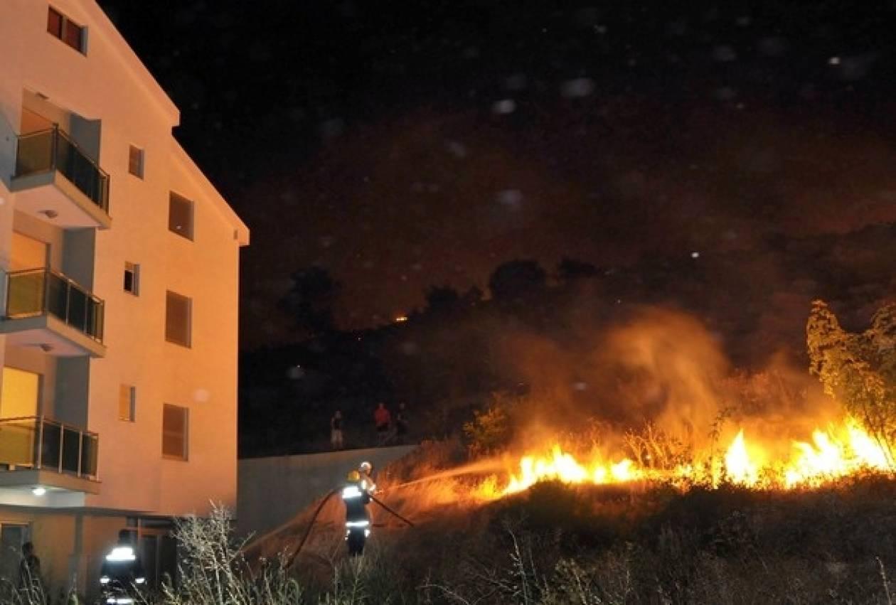 Απειλήθηκε από τις φλόγες η Ελληνική Πρεσβεία στο Μαυροβούνιο
