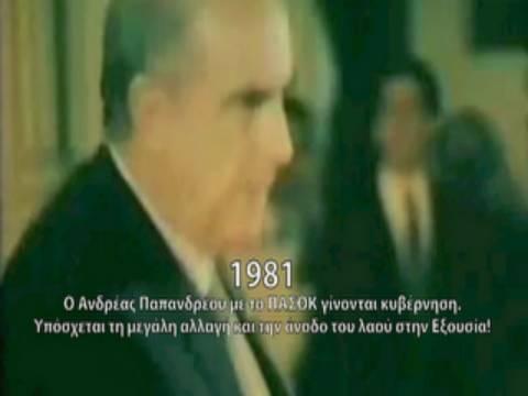 Βίντεο: Η ιστορία του μεταπολιτευτικού συστήματος σε 10 λεπτά