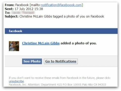 ΠΡΟΣΟΧΗ: Νέος κίνδυνος με ψεύτικα emails για tags σε φωτογραφίες