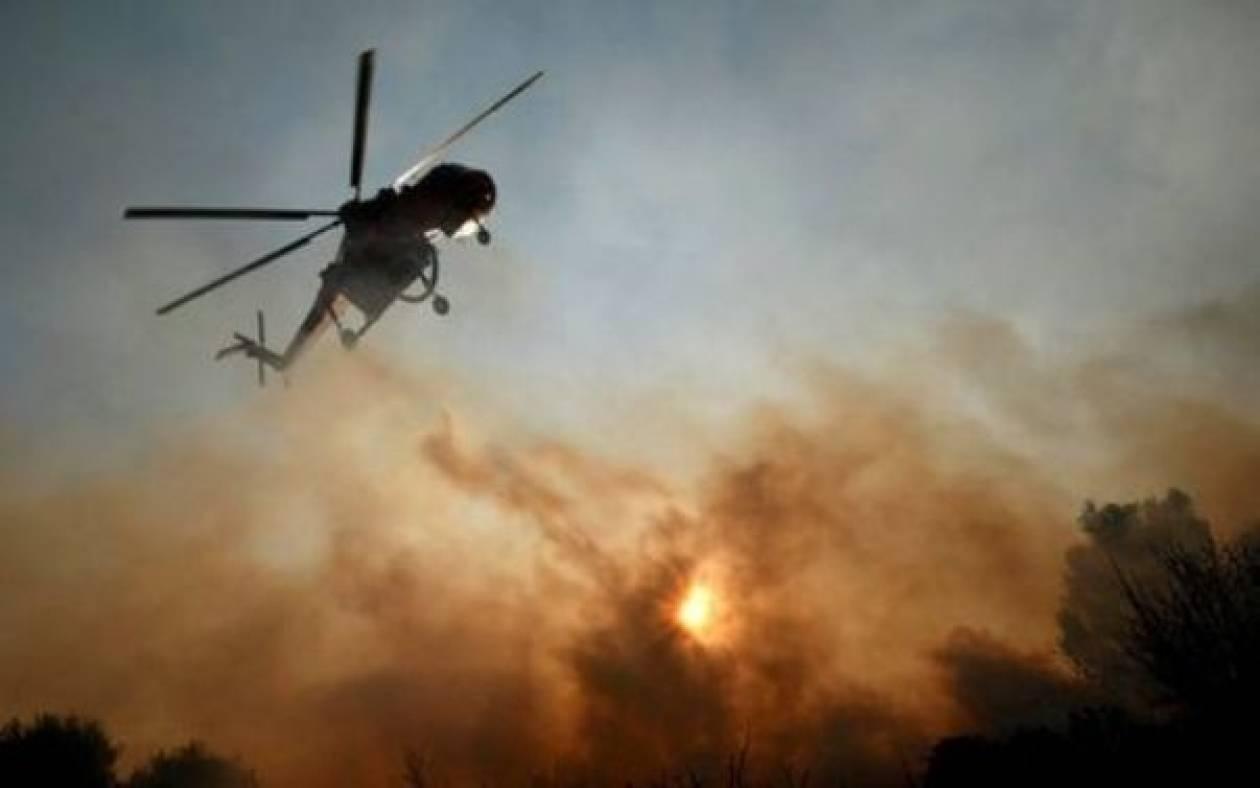 Υπό μερικό έλεγχο η πυρκαγιά στην Λευκάδα