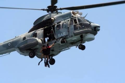 Επιχείρηση διάσωσης ναυαγών στη Χαλκιδική
