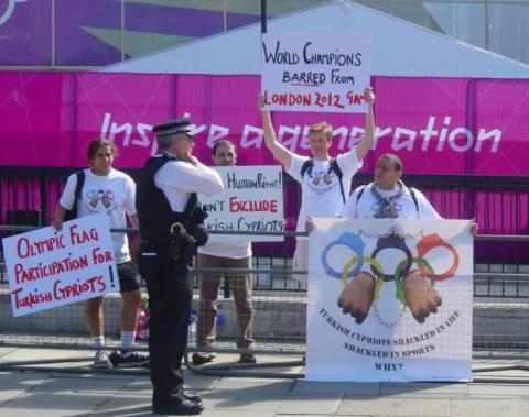 Οι Τουρκοκύπριοι ζητούν συμμετοχή στους Ολυμπιακούς Αγώνες