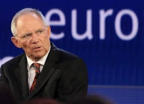 «Άγκυρα σταθερότητας του ευρώ η Γερμανία» είπε ο Σόιμπλε