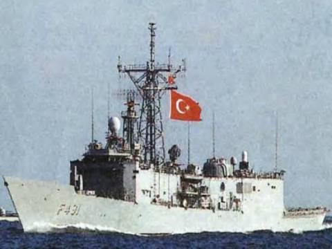 Τουρκική φρεγάτα έφτασε μέχρι τις Κυκλάδες