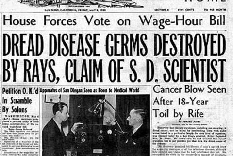 Υπήρξε θεραπεία για τον καρκίνο από το 1934;