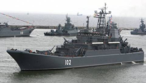 Και η δεύτερη ρωσική νηοπομπή στην Μεσόγειο