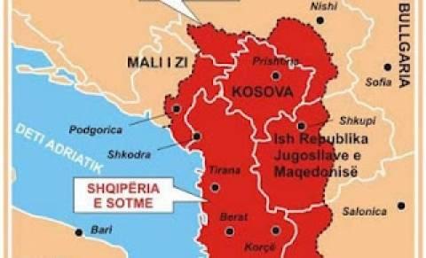 Xάρτης αποδεικνύει πως οι Αλβανοί δεν διεκδικούν ελληνικά εδάφη