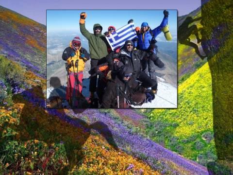 Ορειβάτες στα… χνάρια του Μ. Αλεξάνδρου!