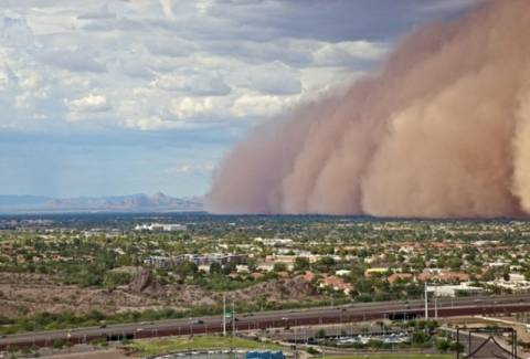 Βίντεο: Τρομακτική αμμοθύελλα στην Αριζόνα