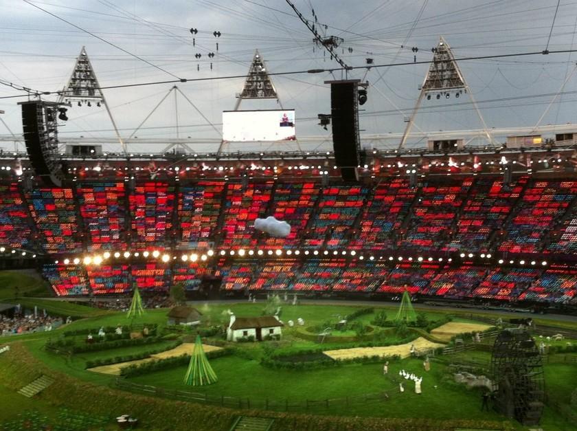 Ολυμπιακοί Αγώνες 2012 - Τελετή έναρξης: Οι πρώτες εικόνες