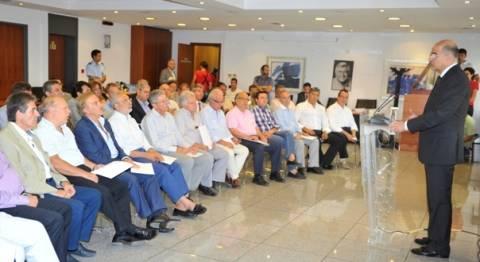 Σύσκεψη για την εγκληματικότητα με Δημάρχους και τον Ν. Δένδια