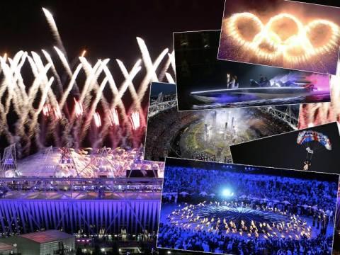 Ολυμπιακοί Αγώνες 2012: Εκπληκτικές εικόνες από την τελετή έναρξης!