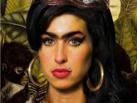 Η Amy Winehouse α λα Φρίντα!