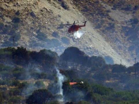 Κρήτη: Ο πιλότος του ελικοπτέρου είδε τους εμπρηστές