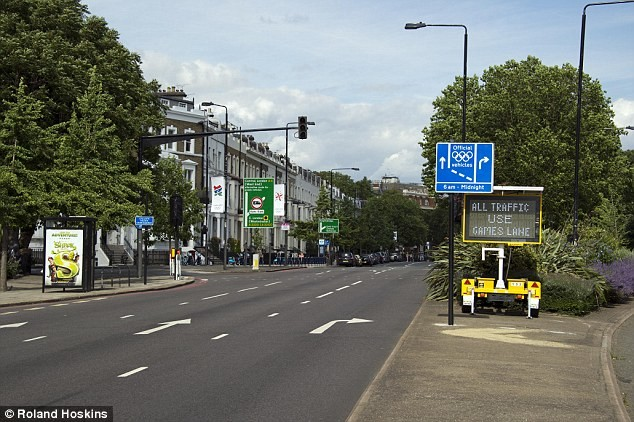 Οι Ολυμπιακοί αγώνες άδειασαν το Λονδίνο (φώτο)