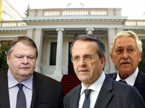 Σε βαρύ κλίμα η σύσκεψη των τριών κυβερνητικών εταίρων