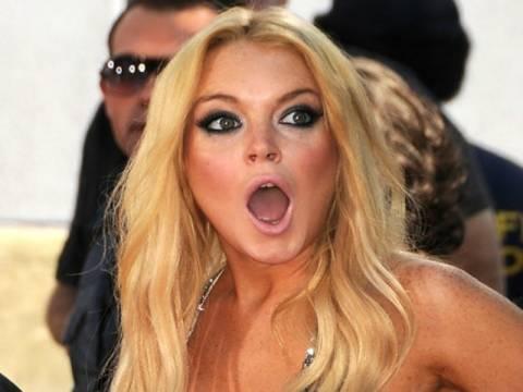 H τοπλες Lindsay Lohan διέταξε τους τεχνικούς της ταινίας να γδυθούν!