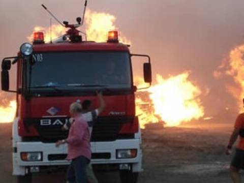 Υπό μερικό έλεγχο η πυρκαγιά στην Κεφαλονιά