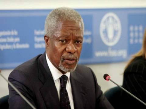 Συρία: Παραιτήθηκε ο ειδικός απεσταλμένος του ΟΗΕ, Κόφι Ανάν