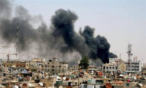 Μακελειό σε Παλαιστινιακό καταυλισμό στην Δαμασκό