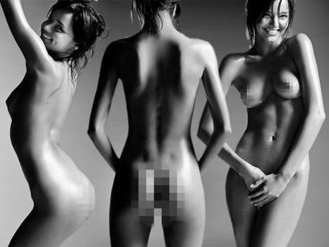 Η Miranda Kerr φωτογραφήθηκε φορώντας μόνο το… λάδι της!