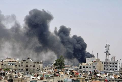 Έκρηξη στην κρατική τηλεόραση της Συρίας