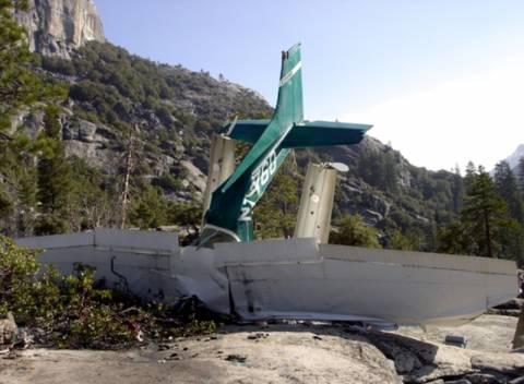 Δύο νεκροί σε συντριβή εκπαιδευτικού αεροπλάνου