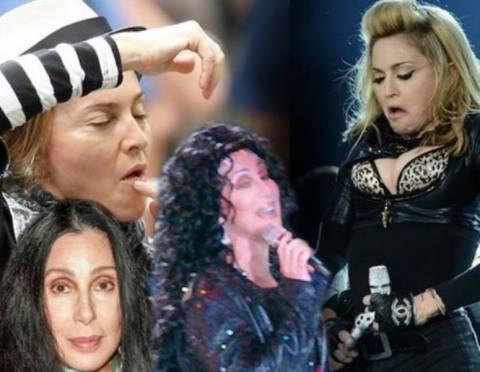 Pop star «τρίτης ηλικίας»: Ποια έχει τις περισσότερες ρυτίδες;