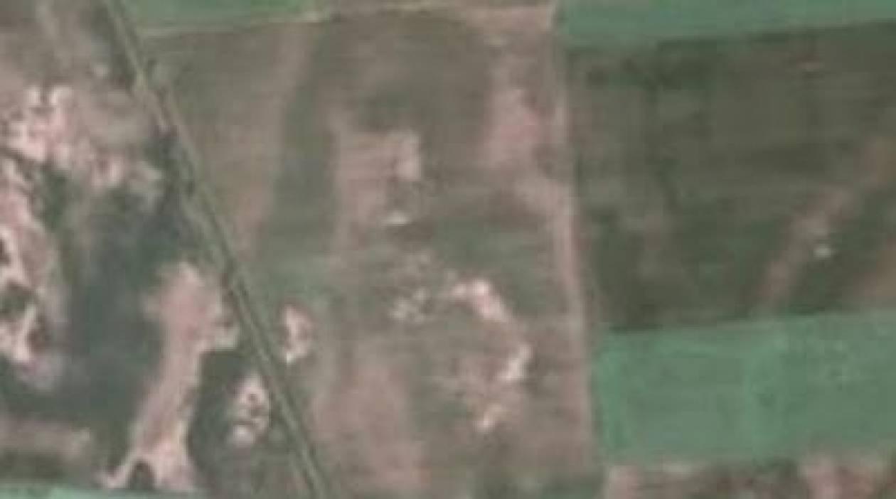 Είδε τον Ιησού σε χωράφι με το GoogleEarth!
