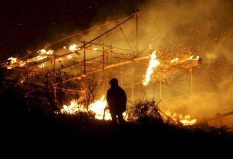 Ένας νεκρός πυροσβέστης από τις φωτιές στην Ιταλία