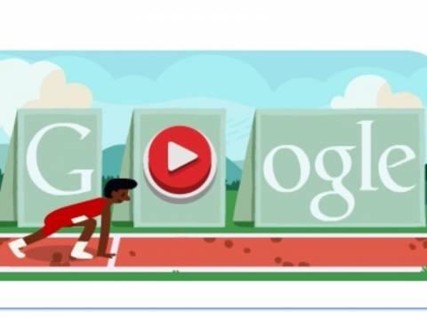 Εμπόδια: Τρέξε σε αγώνες δρόμου μετ' εμποδίων στο Google Doodle