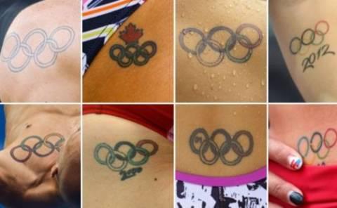 Ολυμπιακοί Αγώνες 2012: Το trend στα tattoo