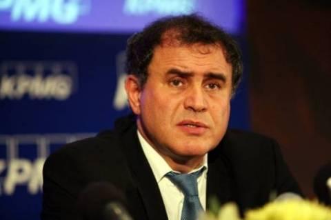 Ρουμπινί: Η τρόικα θα οδηγήσει εκτός ευρώ την Ελλάδα