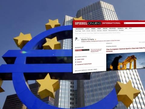 Spiegel: «Η διακριτική βοήθεια της ΕΚΤ προς την Ελλάδα»