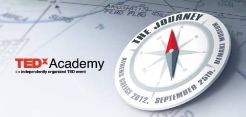 TedxAcademy 2012- Tο Ταξίδι ξεκινάει