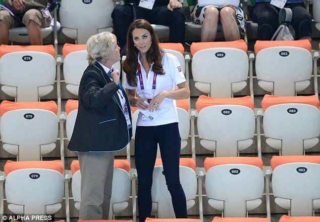 Η Kate Middleton είδε μποξ και πανηγύρισε (pics)
