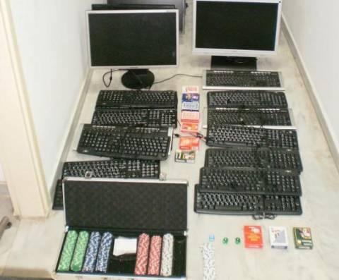 Συλλήψεις για «φρουτάκια» στα Χανιά