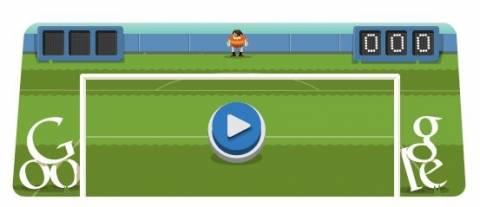 Ποδόσφαιρο... Πιάσε πέναλτι στο doodle της Google