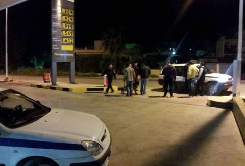 Ληστεία σε βενζινάδικο στο Χαϊδάρι