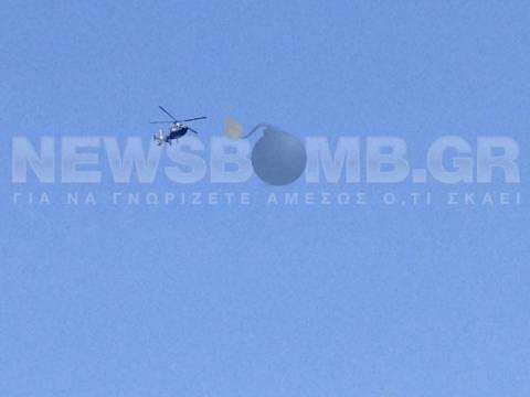 Αποκλειστικό: Αδιάκοπες έρευνες από τo ελικόπτερo στην Πάρο