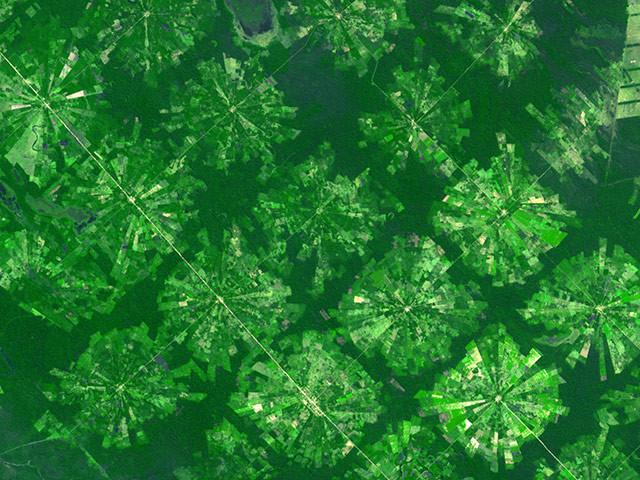 Δείτε αγροτικές καλλιέργειες από το διάστημα (pics)
