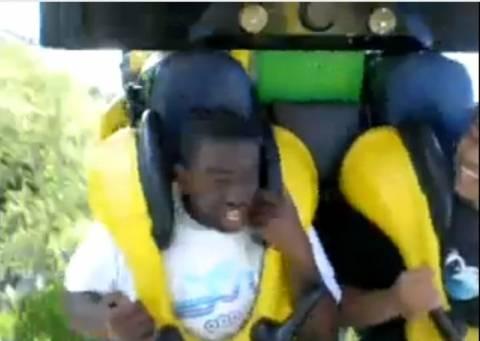 Βίντεο: Προσοχή στα rollercoaster