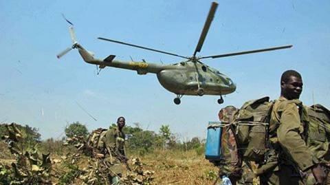 Ουγκάντα: Αγνοούνται μαχητικά ελικόπτερα