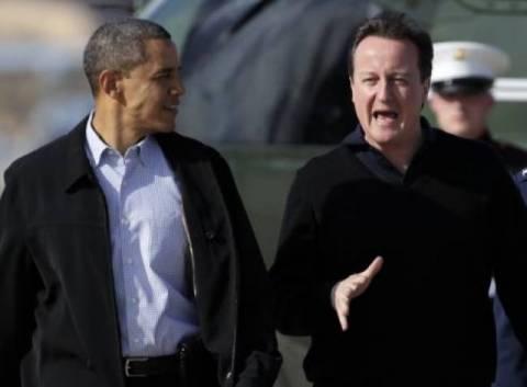 Ο Ομπάμα συνεχάρη τον Κάμερον για τους Ολυμπιακούς Αγώνες