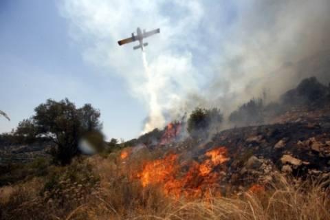 Σε εξέλιξη νέα πυρκαγιά στη Κεφαλονιά