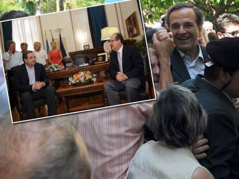 Α. Σαμαράς: Με τη βοήθεια της Παναγιάς θα κερδίσουμε