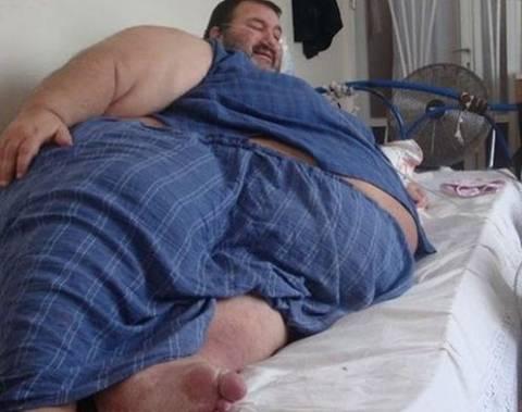 Κομοτηνή: Άνδρας ζυγίζει 400 κιλά