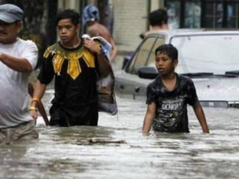 Φιλιππίνες: Τουλάχιστον δύο νεκροί από τις πλημμύρες