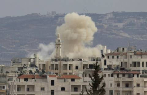 Συρία: Ισχυρή έκρηξη στη Δαμασκό